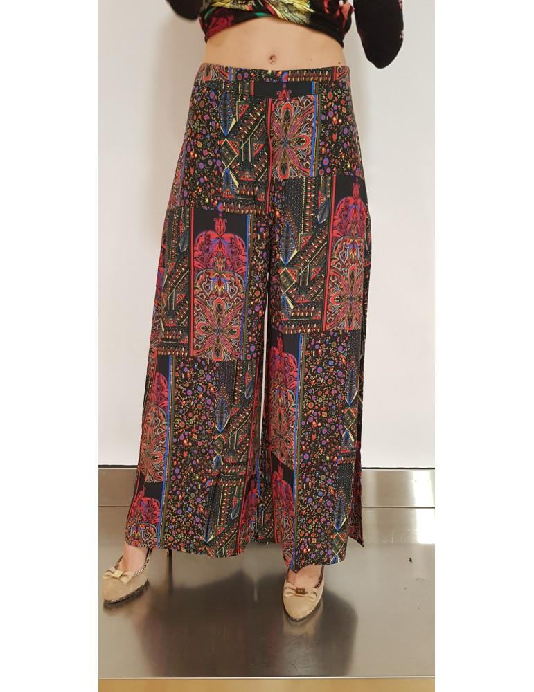 Pantalone donna Desigual nero Winkler 18wwpw042000 DESIGUAL