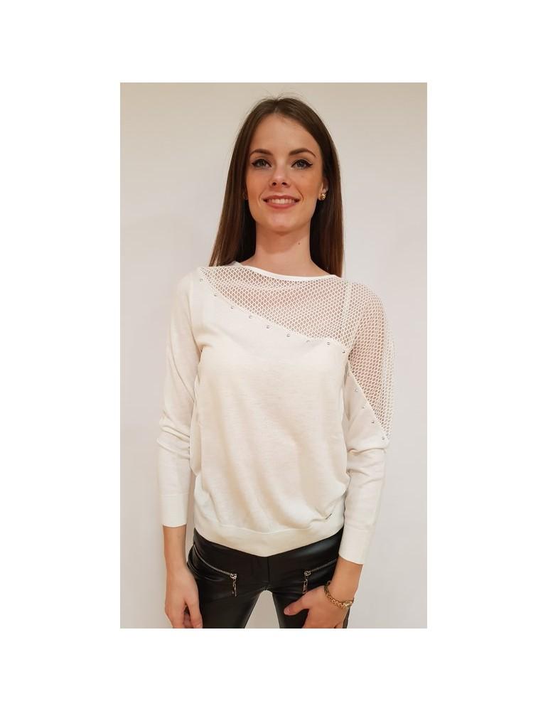 Gaudi maglia donna beige traforata 821fd530262121 GAUDI MAGLIE DONNA product_reduction_percent