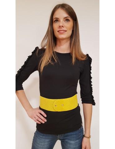 Gaudi yellow woman belt