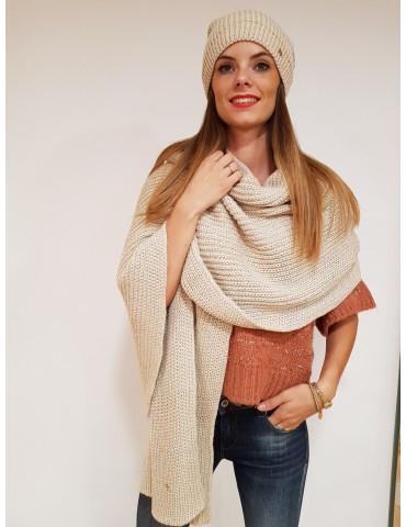 Gaudi beige women's scarf