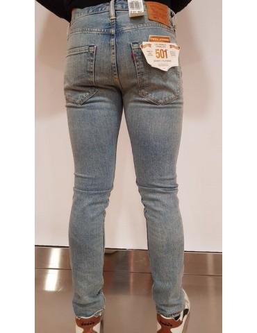 Levi's 501 jeans uomo skinny filiforme