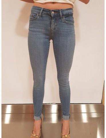 Levi's jeans donna 710 vintage soft