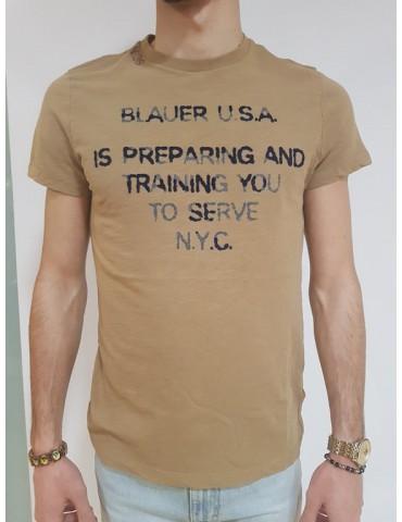 T shirt uomo Blauer N. 36 nocciola