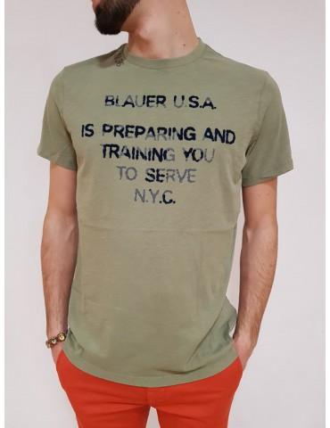 T shirt uomo Blauer N. 36 verde