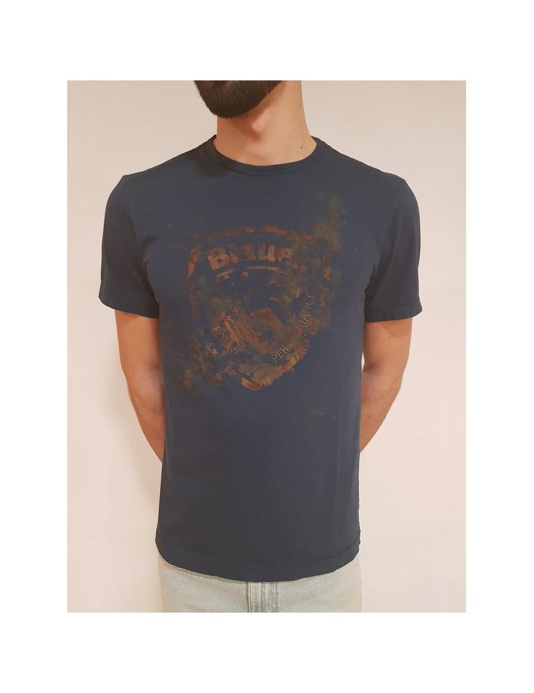 T shirt Blauer manica corta blu 18sbluh02229a02908880 BLAUER USA T SHIRT UOMO 49,18€
