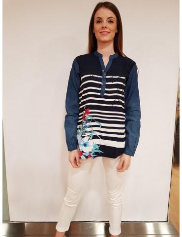 Desigual blusa Judith navy
