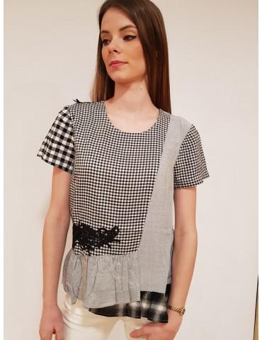 Desigual blusa Chloe nera