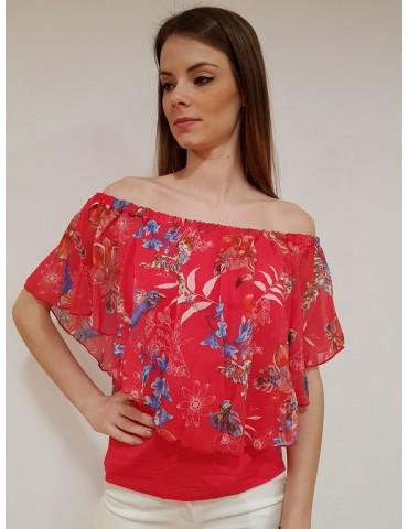 Camicia Desigual Litza azalea