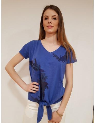 Desigual t shirt donna Alexia blu