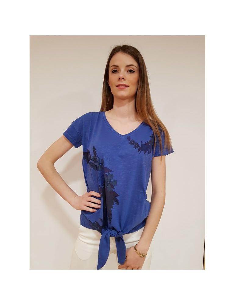 Desigual t shirt donna Alexia blu 18swtkah5202 DESIGUAL T SHIRT DONNA 37,70€