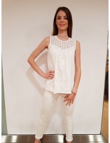 Desigual t shirt Garance bianca