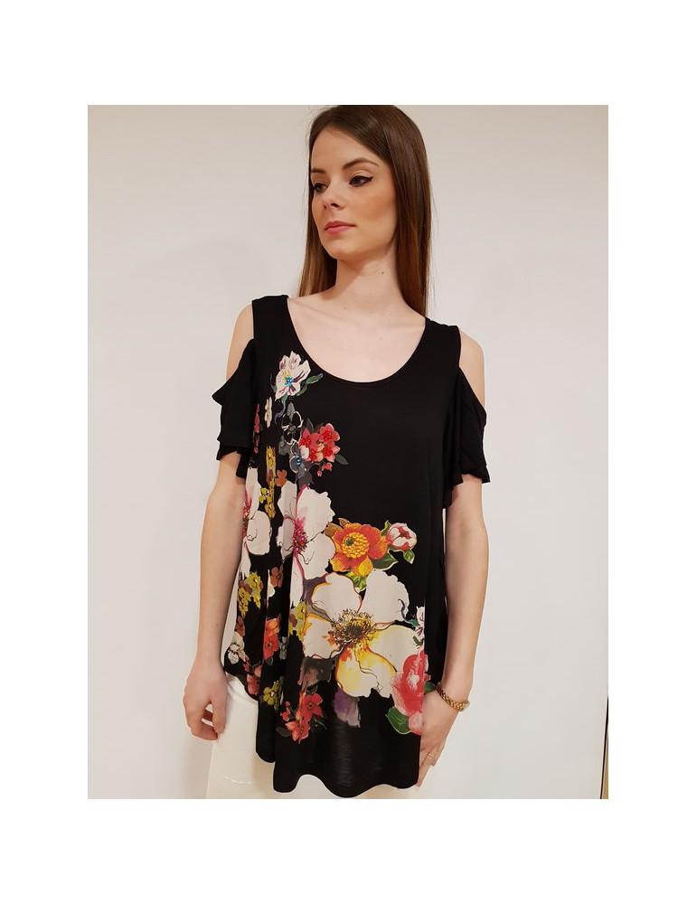Desigual t shirt Kora nera 18swtkcw2000 DESIGUAL T SHIRT DONNA 45,90€