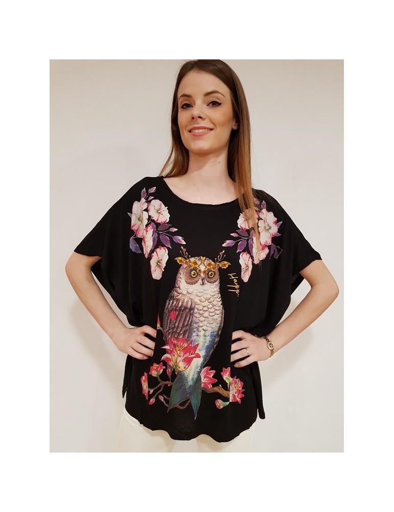 Desigual t shirt strange fruit nera 18swtkhp2000 DESIGUAL T SHIRT DONNA 49,18€