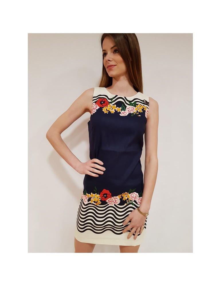 Desigual abito blu Prudencia 18swvwcl5001 DESIGUAL ABITI DONNA 90,16€