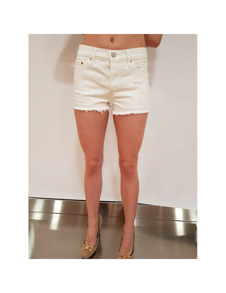 Levi's jeans corto - pantaloncino 501 shorts super sonic 32317-0082 LEVI'S JEANS CORTI DONNA product_reduction_percent