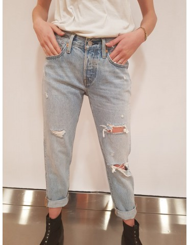 Levi's jeans 501 tapered leg