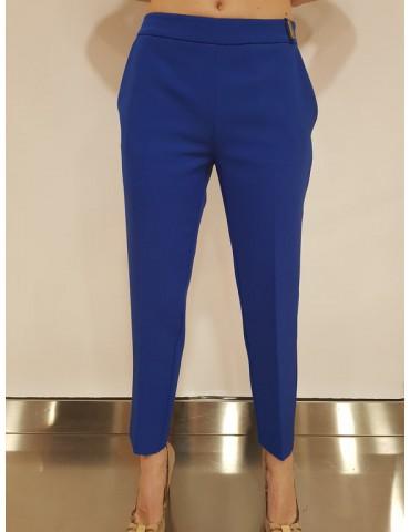 Gaudì pantalone donna bluette