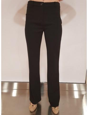 Gaudì pantalone nero a zampetta