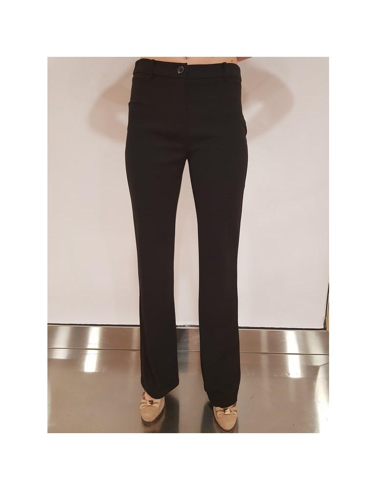 Gaudì pantalone nero a zampetta 811fd250132001 GAUDI PANTALONI DONNA product_reduction_percent