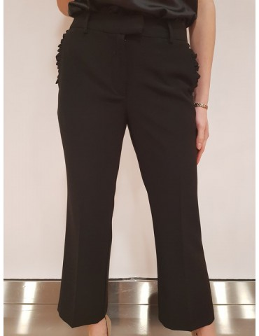 Gaudì pantalone donna lungo 25026 nero