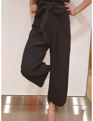 Pantalone donna Gaudì con cintura 25029 nero