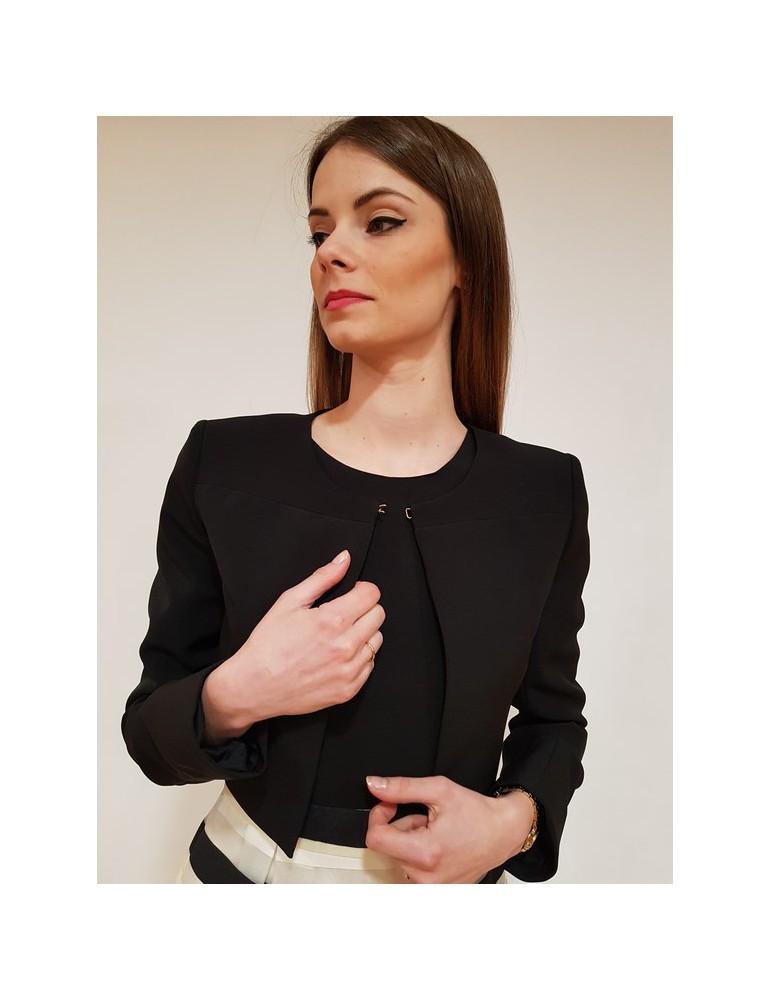 Giacca donna nera Gaudì manica lunga 811fd35015 811fd350152001 GAUDI