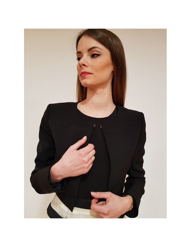 Giacca donna nera Gaudì manica lunga 811fd35015 811fd350152001 GAUDI GIUBBINI E GIACCHE DONNA 86,89€