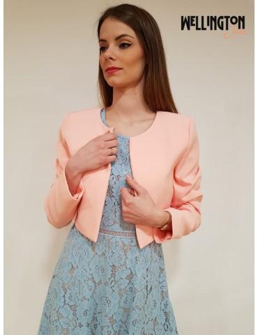 Giacca donna rosa Gaudì manica lunga