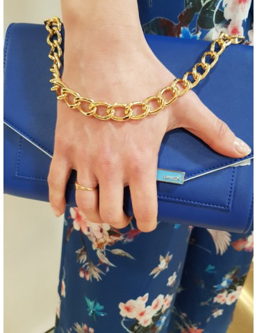 Gaudì borsa pochette benny 9002 bluette
