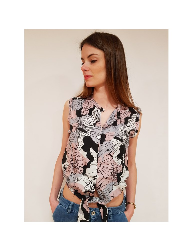 Fornarina camicia Tiffany rosa be184601ca46c5 FORNARINA