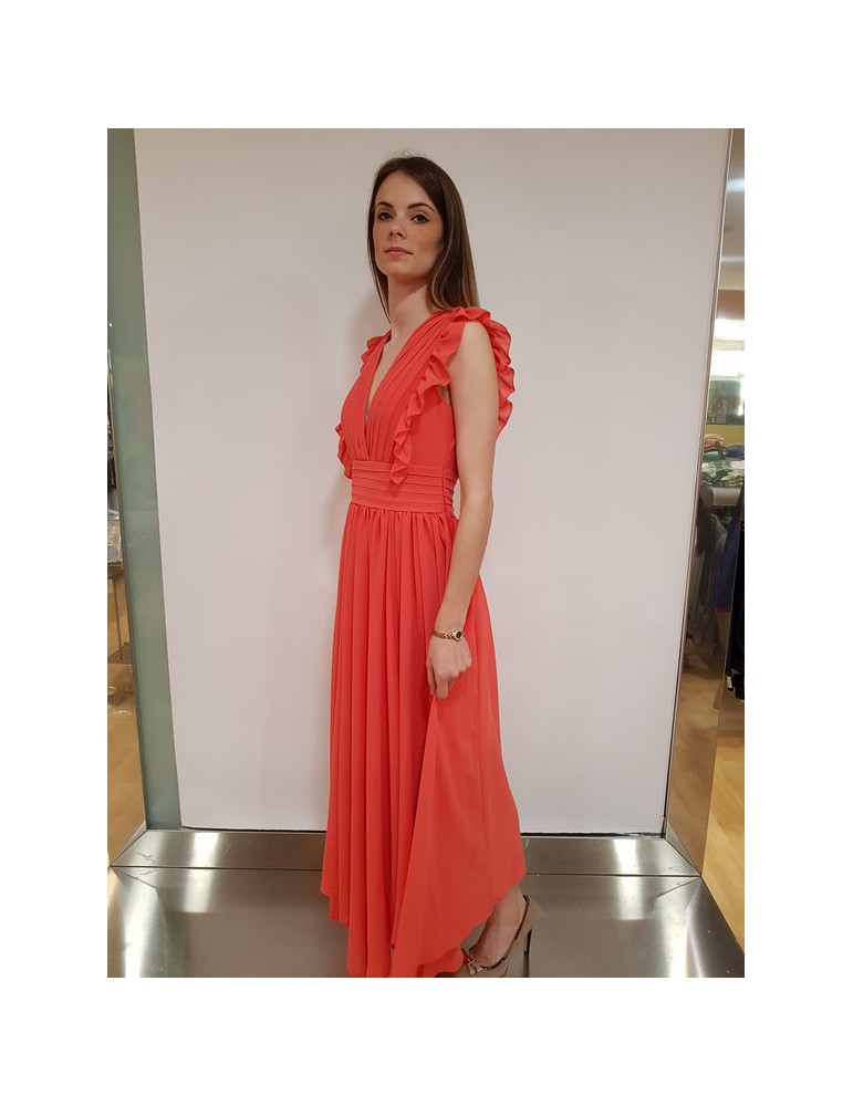 Fracomina vestito lungo melone fr18sm581199 FRACOMINA ABITI DONNA 98,36€