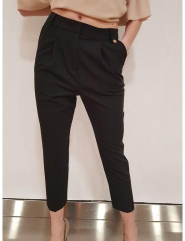 Fracomina pantalone capri nero