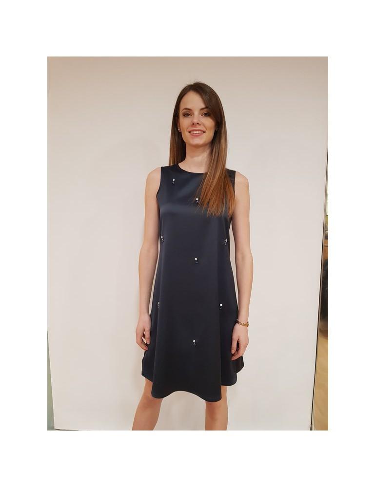 Fracomina vestito corto blu smanicato fr18sp094192 FRACOMINA ABITI DONNA 73,77€