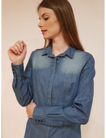 Fracomina camicia jeans stonewash