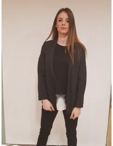 Fracomina giacca nera elegante