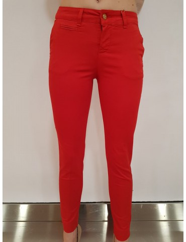Fracomina chinos pant rosso