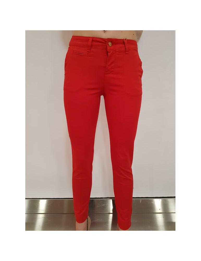 Fracomina chinos pant rosso fr18spc122234 FRACOMINA PANTALONI DONNA product_reduction_percent