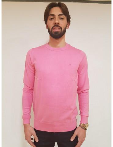 Maglia rosa slim Calvin Klein Stag