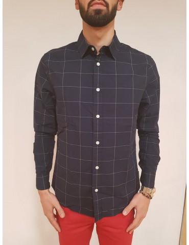 Camicia regular fit Calvin Klein blu Wease