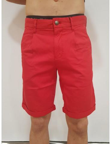 Calvin Klein pantalone corto - pantaloncino rosso Hayden