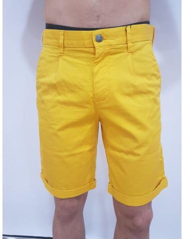 Calvin Klein pantalone corto - pantaloncino giallo Hayden