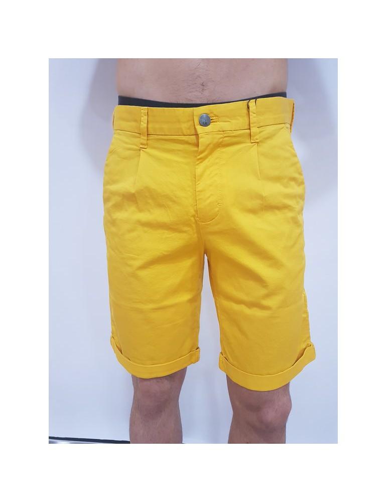 Calvin Klein pantalone corto - pantaloncino giallo Hayden j30j307431796 CALVIN KLEIN JEANS