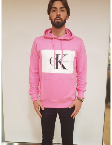 Calvin Klein felpa uomo rosa Hotoro 2 regular fit