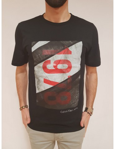 Calvin Klein t shirt regular fit nera Teasia 2