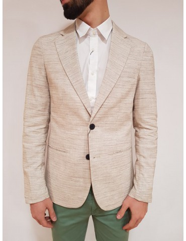 Super slim beige Antony Morato men's jacket