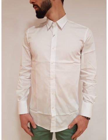 Super slim white Antony Morato men's shirt