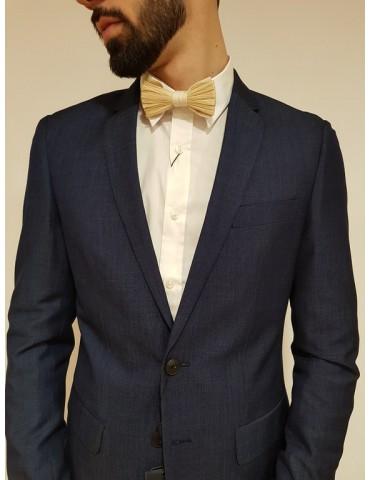 Antony Morato bow tie in raffia and paper fabric