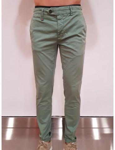 Pantalone skinny Antony Morato verde Bryan