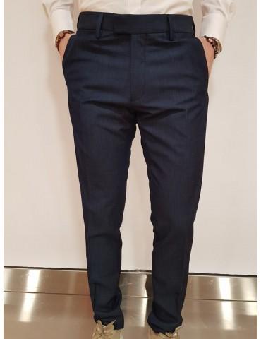 Antony Morato pantalone slim blu oxford