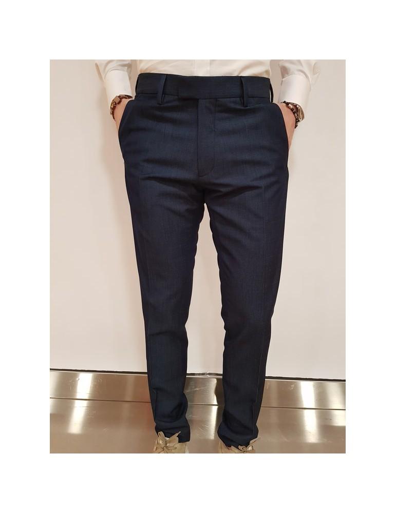Antony Morato pantalone slim blu oxford mmtr00408fa6500467058 ANTONY MORATO PANTALONI UOMO product_reduction_percent